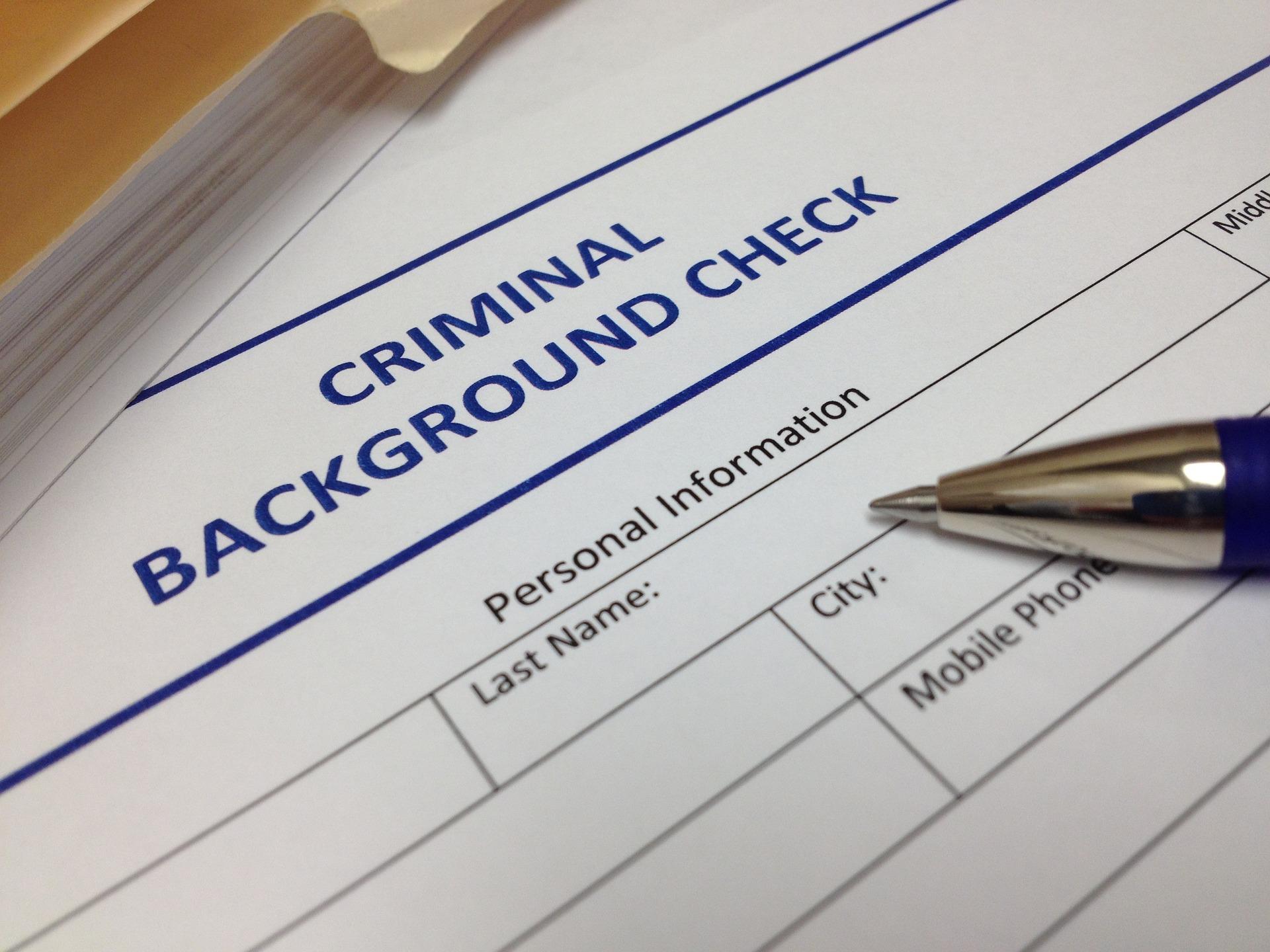 Getting Criminal Record Check / Apostille
